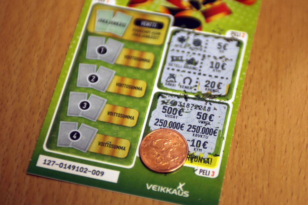 Veikkauksen casino-pelit ei toimi