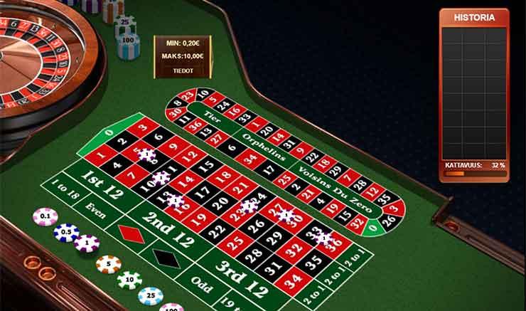 roulette regler odds Mariestad