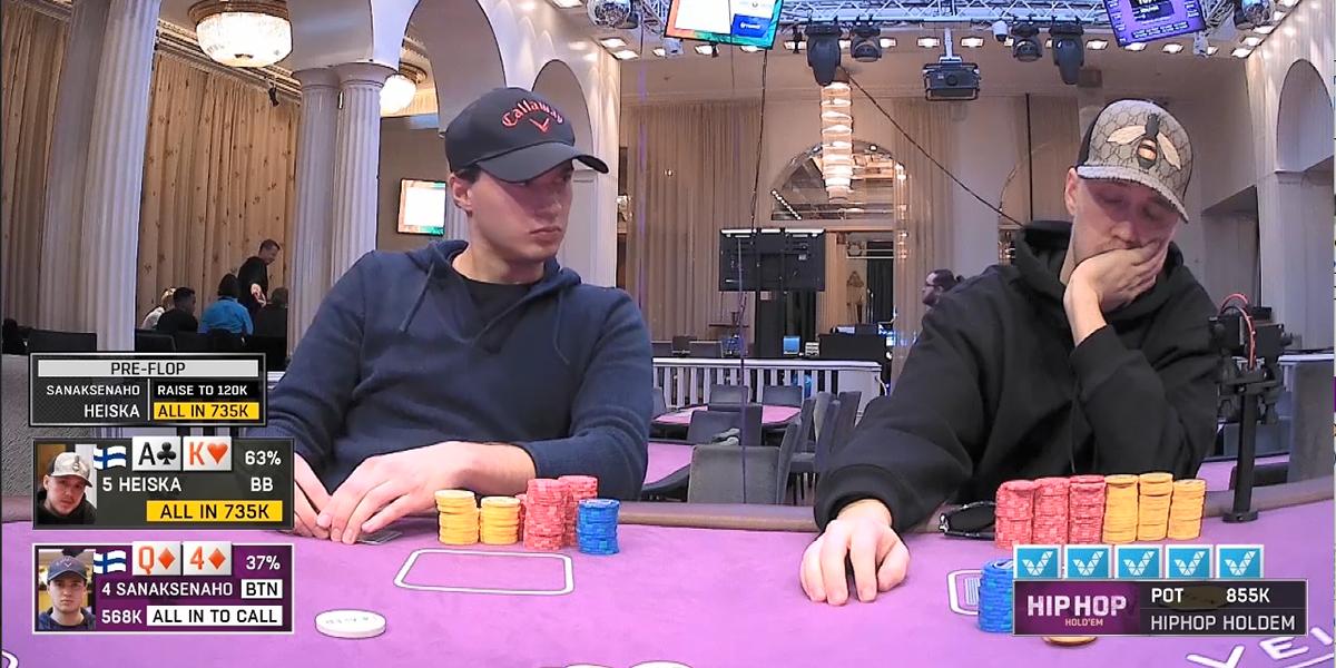 veikkaus pokeri tauot